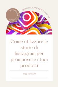 vendere in instagram