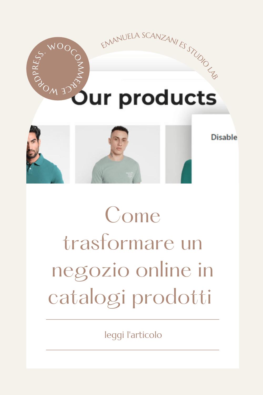WooCommerce Catalogo Prodotti