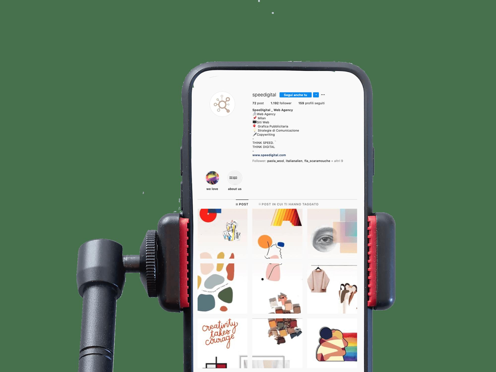 gestione profilo instagram per piccole imprese